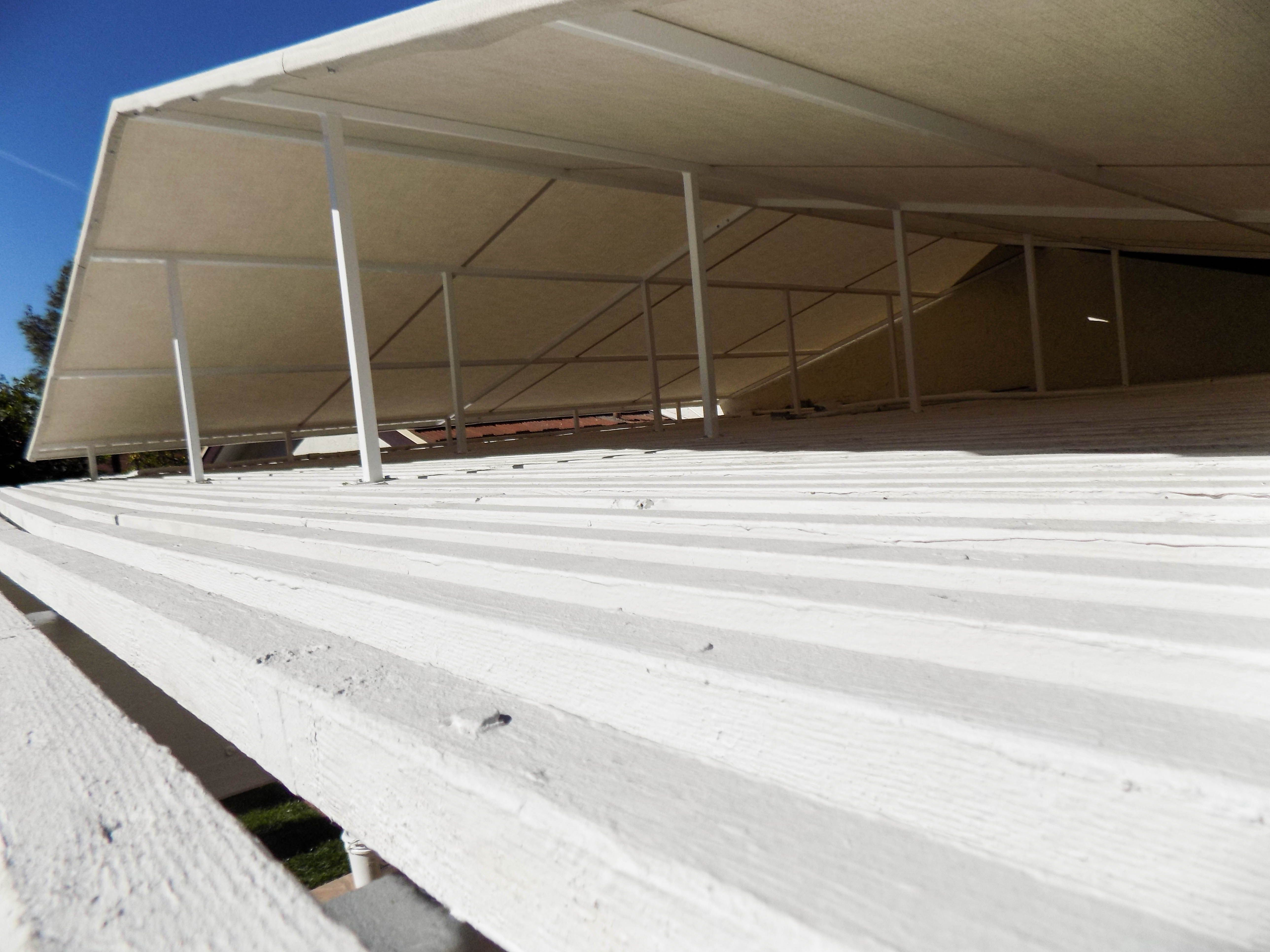 Check Out This Unique Installation We Did Of A Sloped