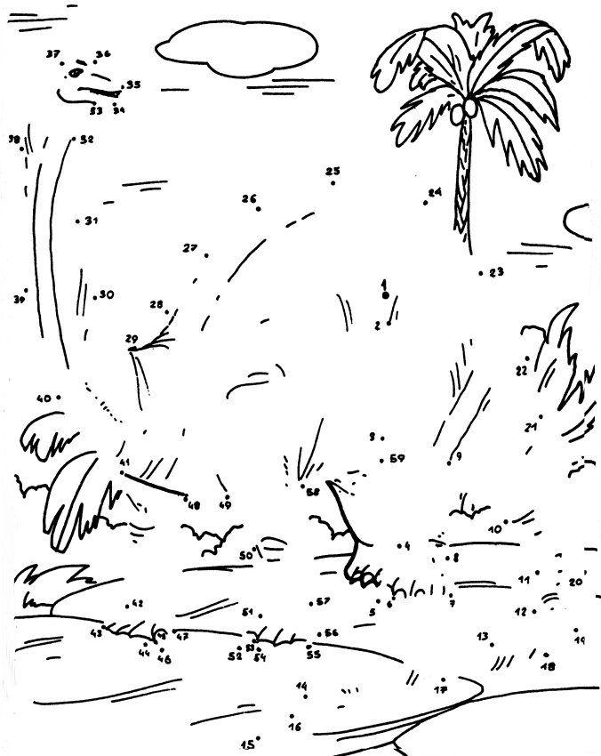 Dinosaur Dot to Dot Pictures Kiddo Shelter Kids