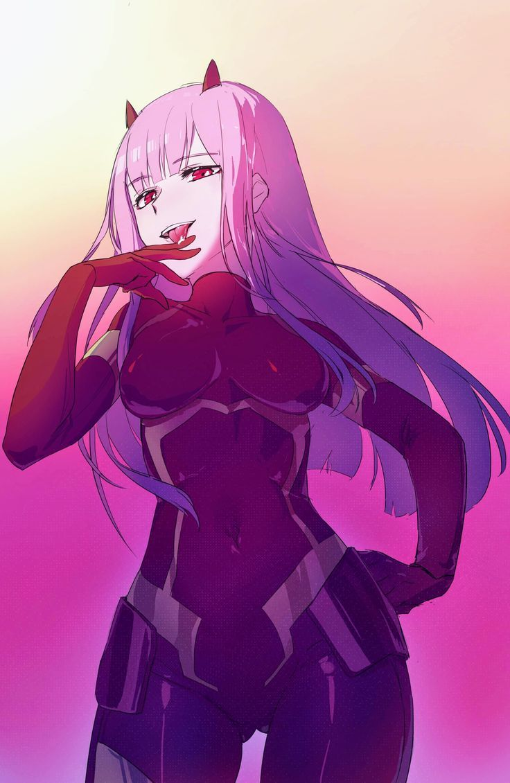 Zero Two - Darling in der FranXX #fanart #manga #anime # ...