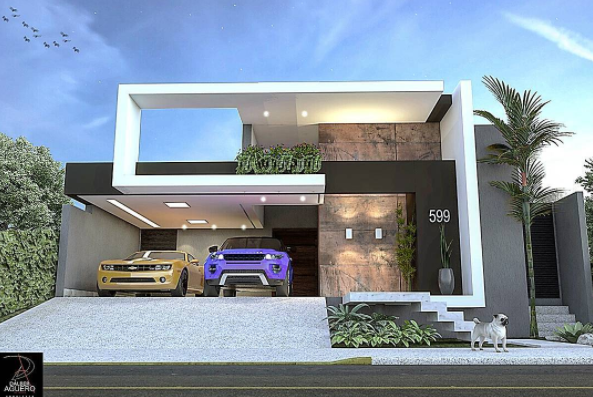 21 The Most Unique Modern Home Design In The World New Duplex House Design Modern House Plans Bungalow House Design