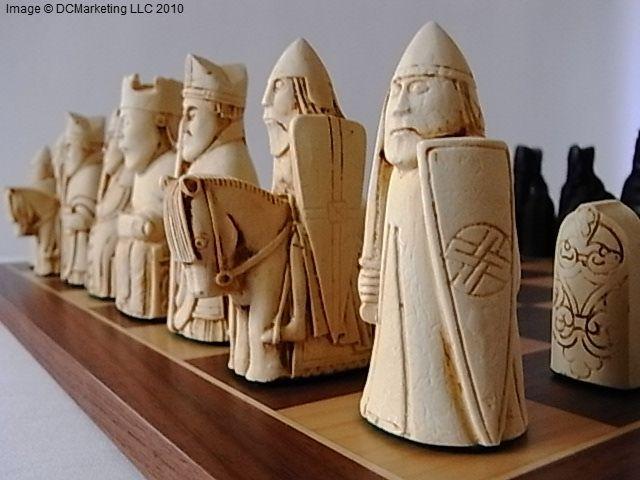 Isle Of Lewis Plain Theme Chess Set Chess Set Chess Board Themed Chess Sets