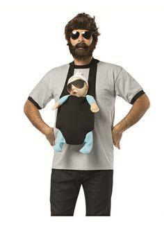 the hangover alan baby carrier costume hangover alan costume movie costume halloween funny mens costume - Male Costumes Halloween