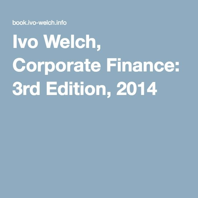 Ivo welch investments global square investments ag