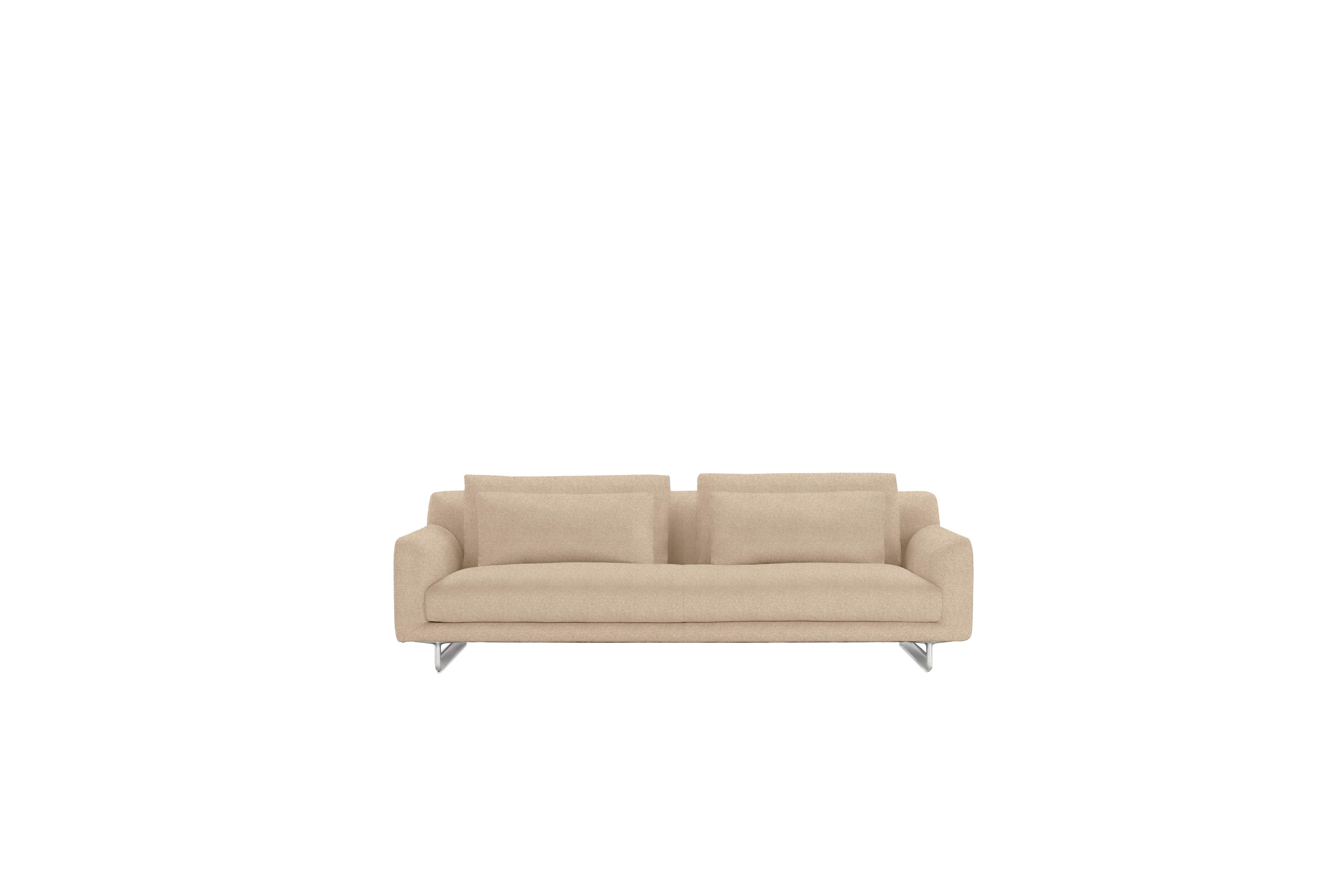 "Lecco Sofa, Tan, 93"" by Design Within Reach"