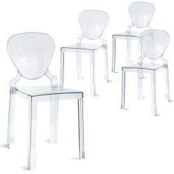 Lot De 4 Chaises Tendance 176 Modern Room Home Decor Chair