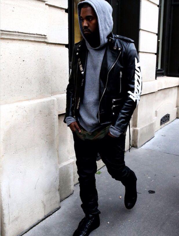 huge discount 18003 e50c4 Yeezus leather jacket