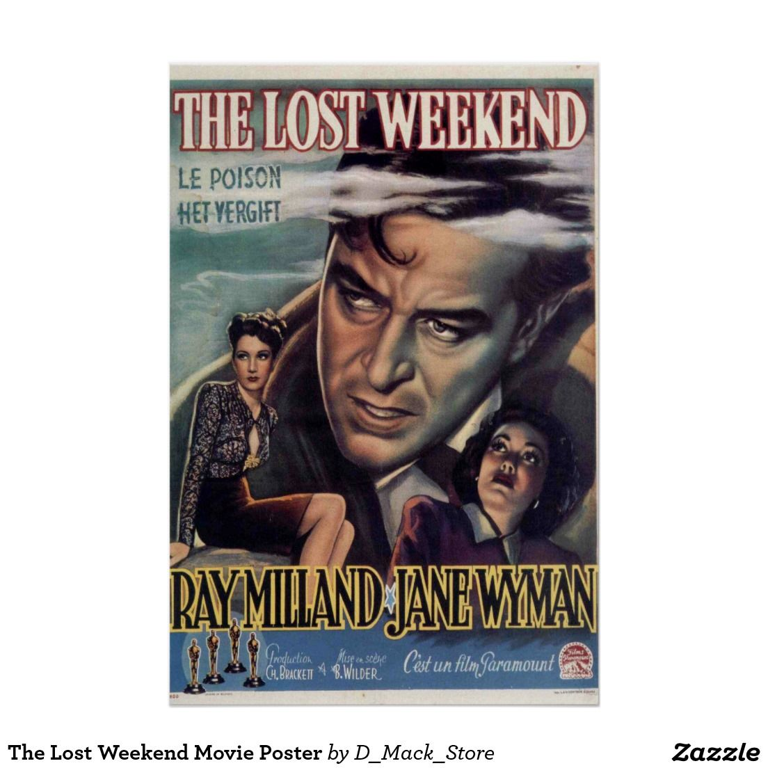 The Lost Weekend Movie Poster