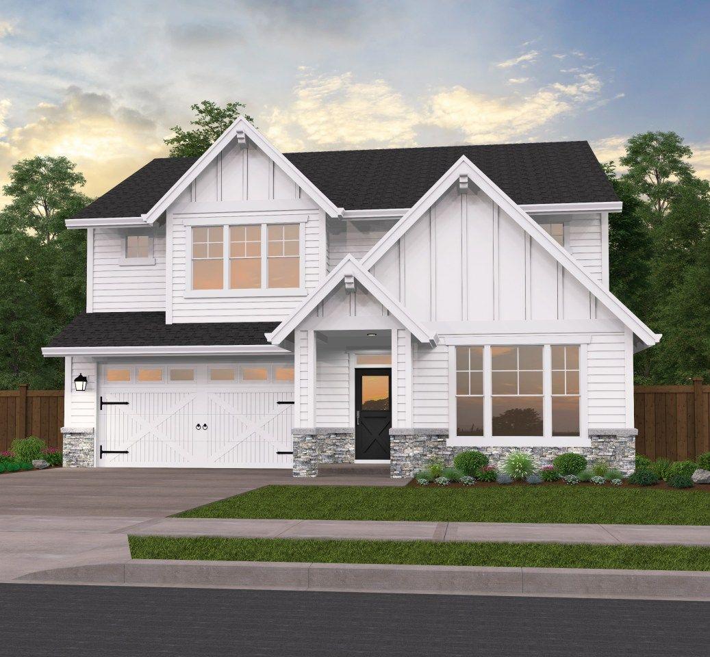 Farm Fresh House Plan in 2020 Modern farmhouse, House