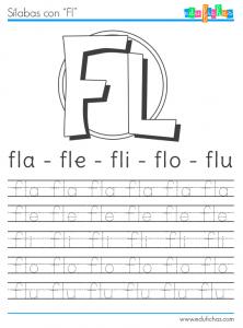 silabas con fl | abecedario | Pinterest | Kind