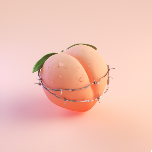 Pin By Briaux Romain On Isometric Low Poly 3d Peach Aesthetic Peach Wallpaper Pastel Pink Aesthetic