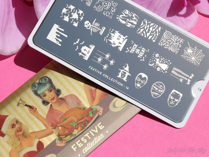 July In The Sky : blog beauté nail art moyou london stamping plaque festive
