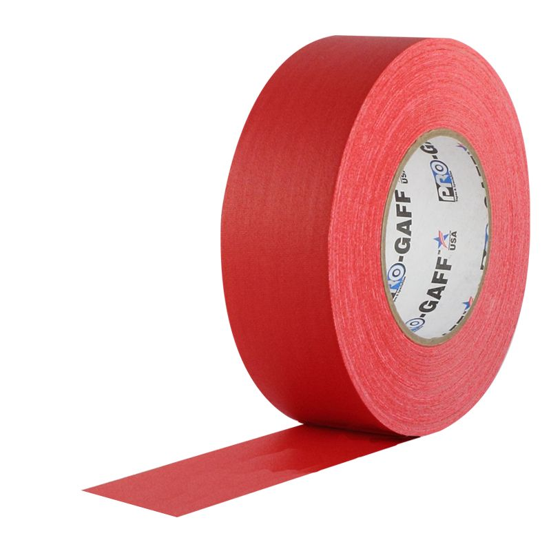 Pro Gaff Red Gaffers Tape