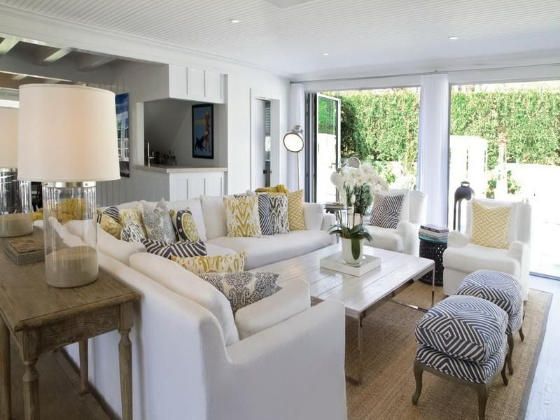 21 Fantastic Beach Style Living Room Ideas Beach cottage decor