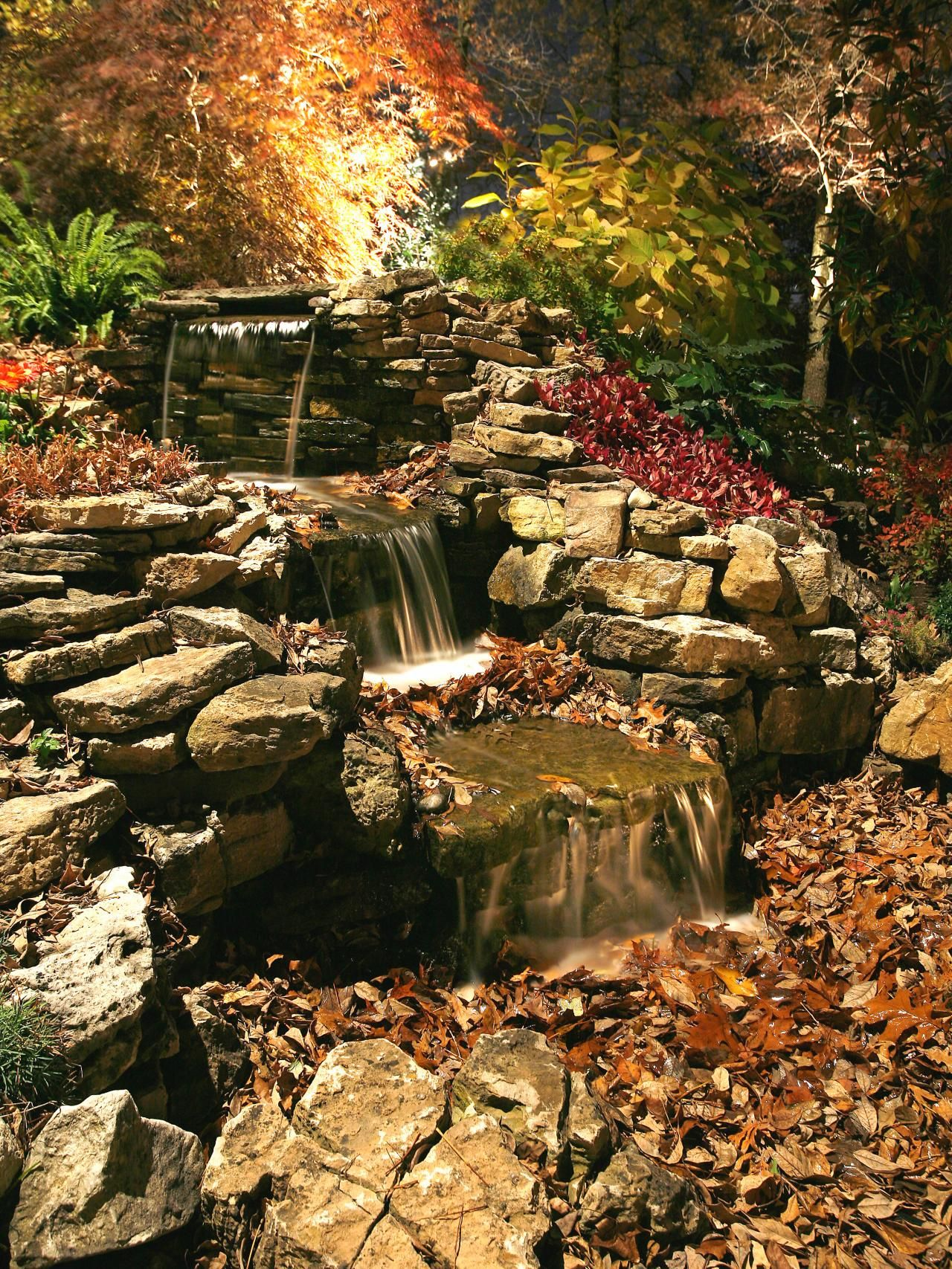 22 Landscape Lighting Ideas Home Garden Water Feature Wiring Outdoor Patio Lights Diy Electrical How Tos Light Fixtures Ceiling Fans Safety