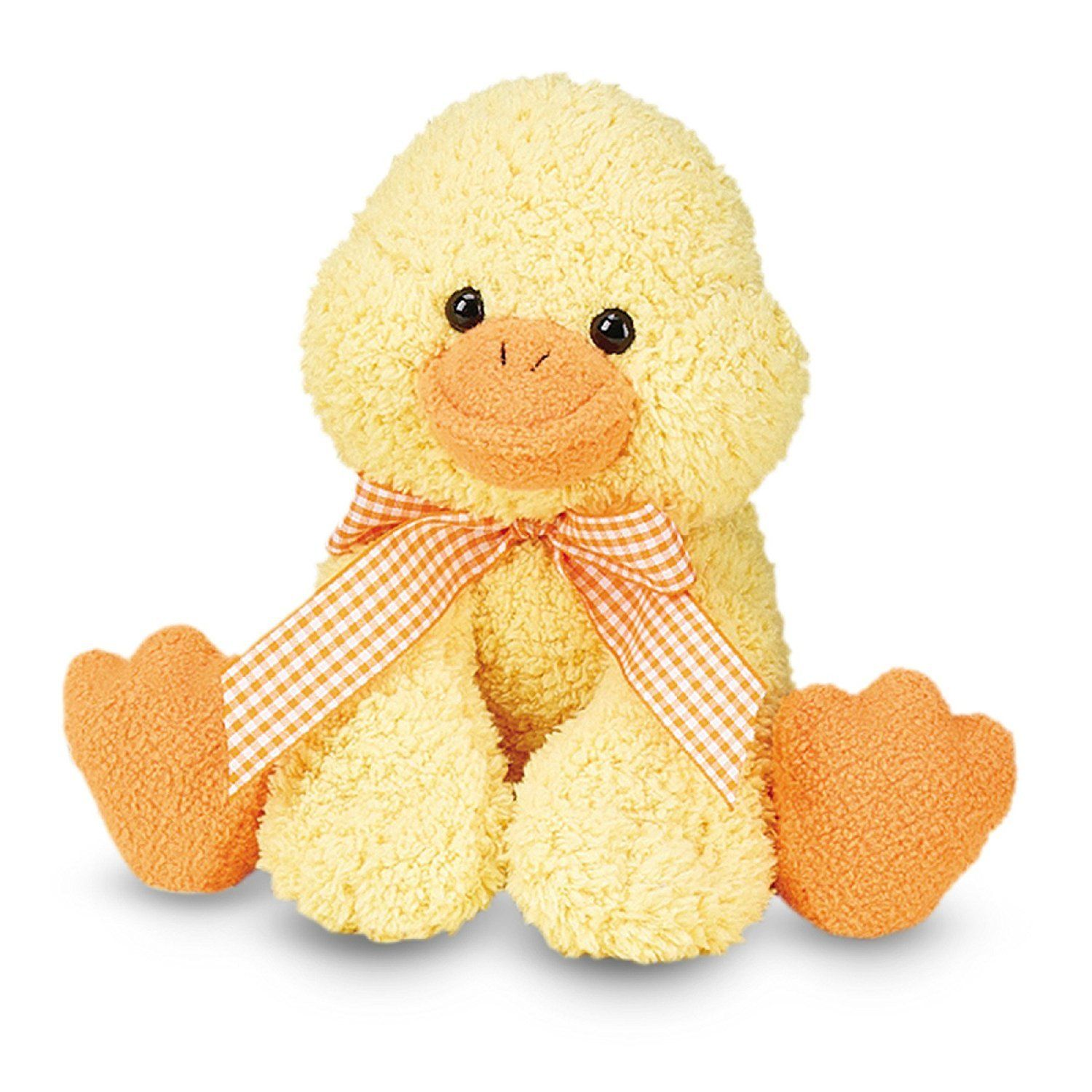 Melissa Doug Meadow Medley Ducky Stuffed Animal With Quacking