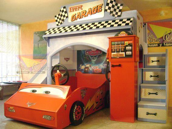 Habitaciones infantiles cars coches en 2019 - Dormitorios de cars ...