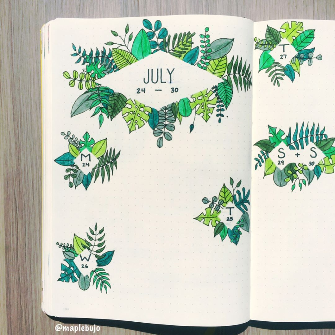 The Ultimate List of Summer Bullet Journal Theme Ideas ⋆ The Petite Planner