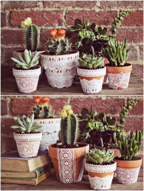 25 DIY Garden Pots That Add Decor To Your Outdoor Living Spaces -   19 dollar store pots