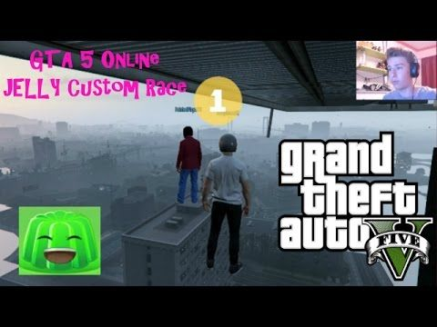 GTA 5 Online Funny Moments: Jelly GTA 5 Race - GTA 5 Custom