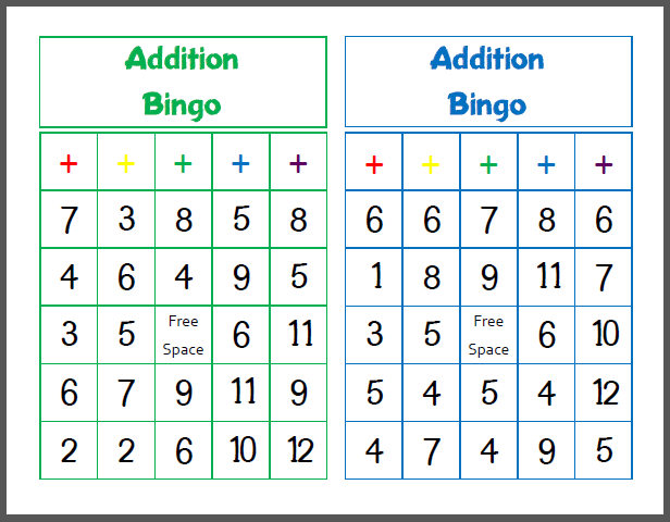 Collection of Math Bingo Worksheets Sharebrowse – Math Bingo Worksheets
