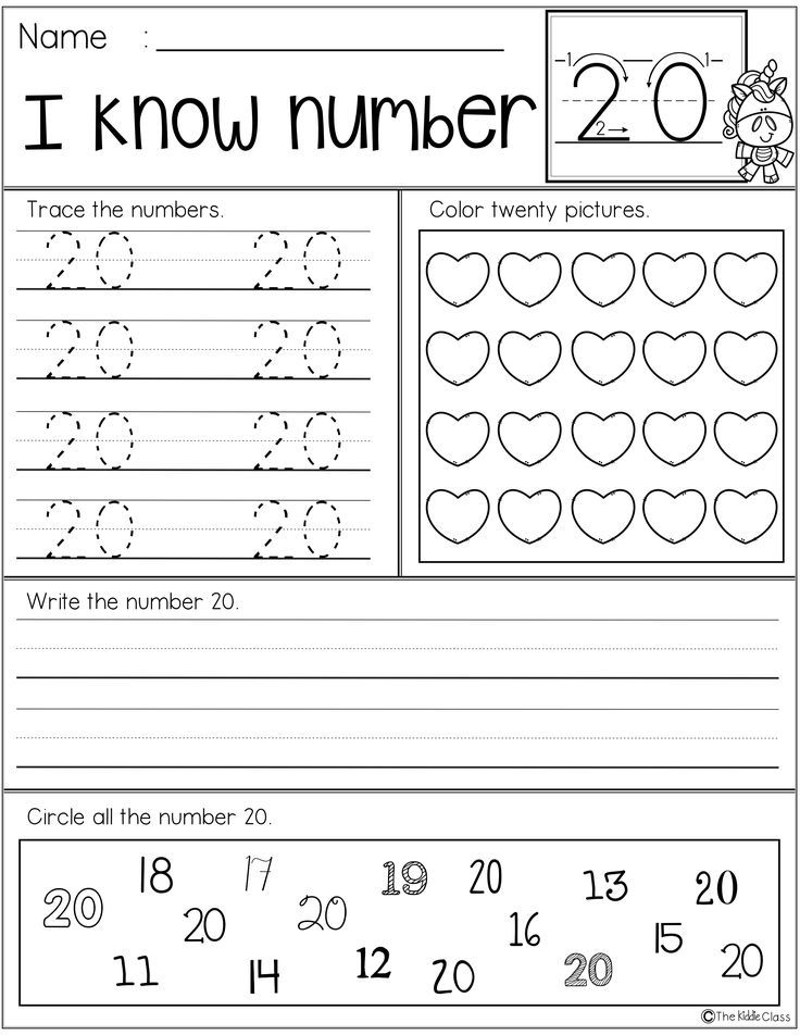Free Number Practice Printables | ***Sweet Math Resources for all ...