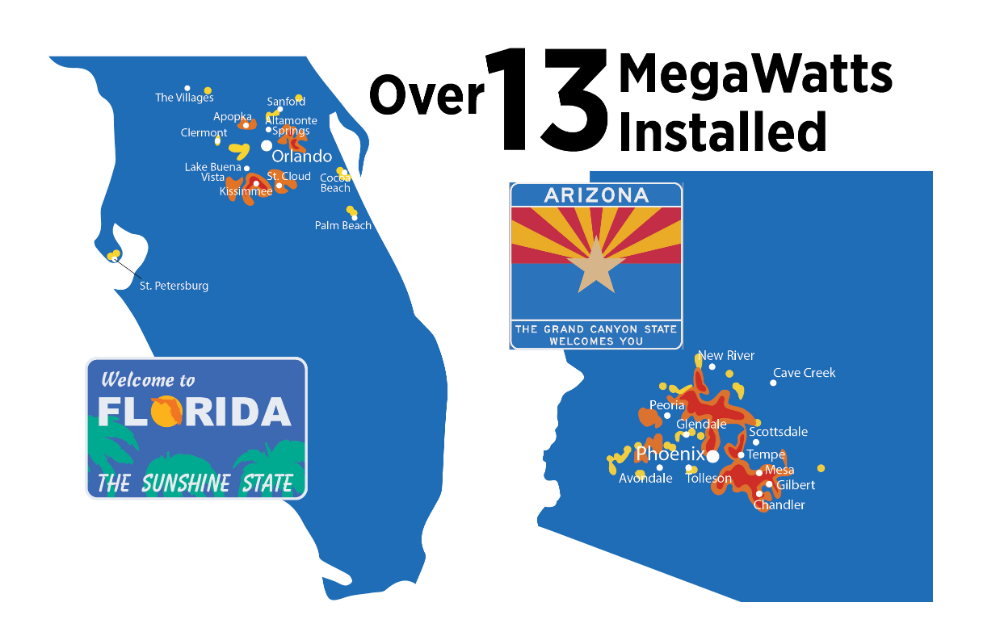 About Pe Solar General Contractors In Az And Fl Solar Projects Residential Solar Solar Companies