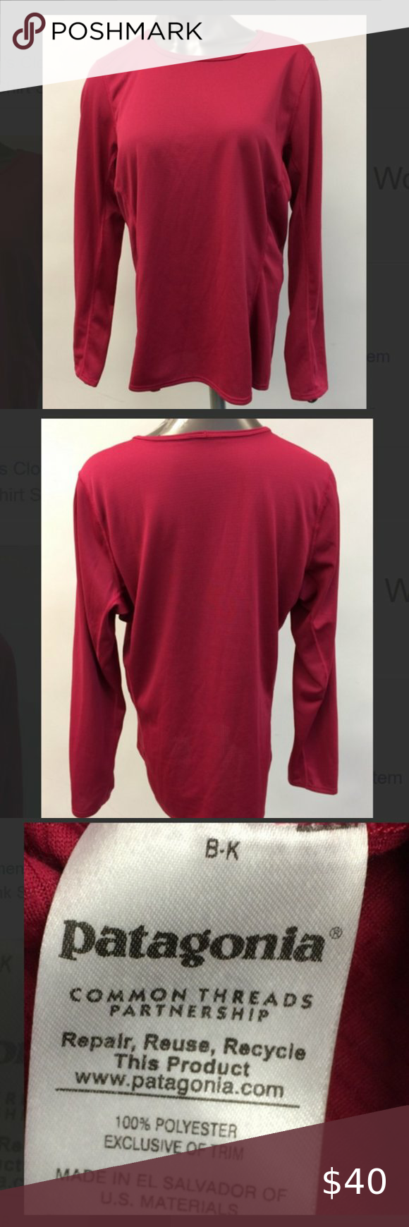 Patagonia Long Sleeve Pink Top Size Xl In 2020 Patagonia Long Sleeve Pink Tops Long Sleeve [ 1740 x 580 Pixel ]
