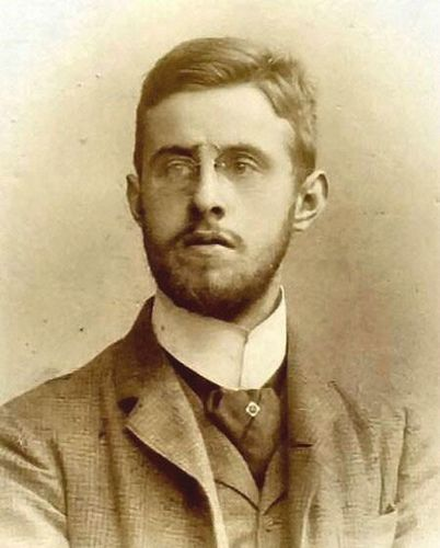 1890s handsome college student