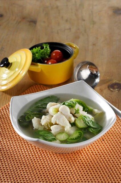 Sup Segar Ikan Dori Sajian Sedap Resep