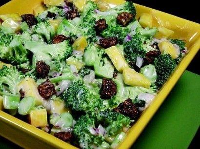 Spicy Broccoli-Mango Salad | Tasty Kitchen: A Happy Recipe Community!