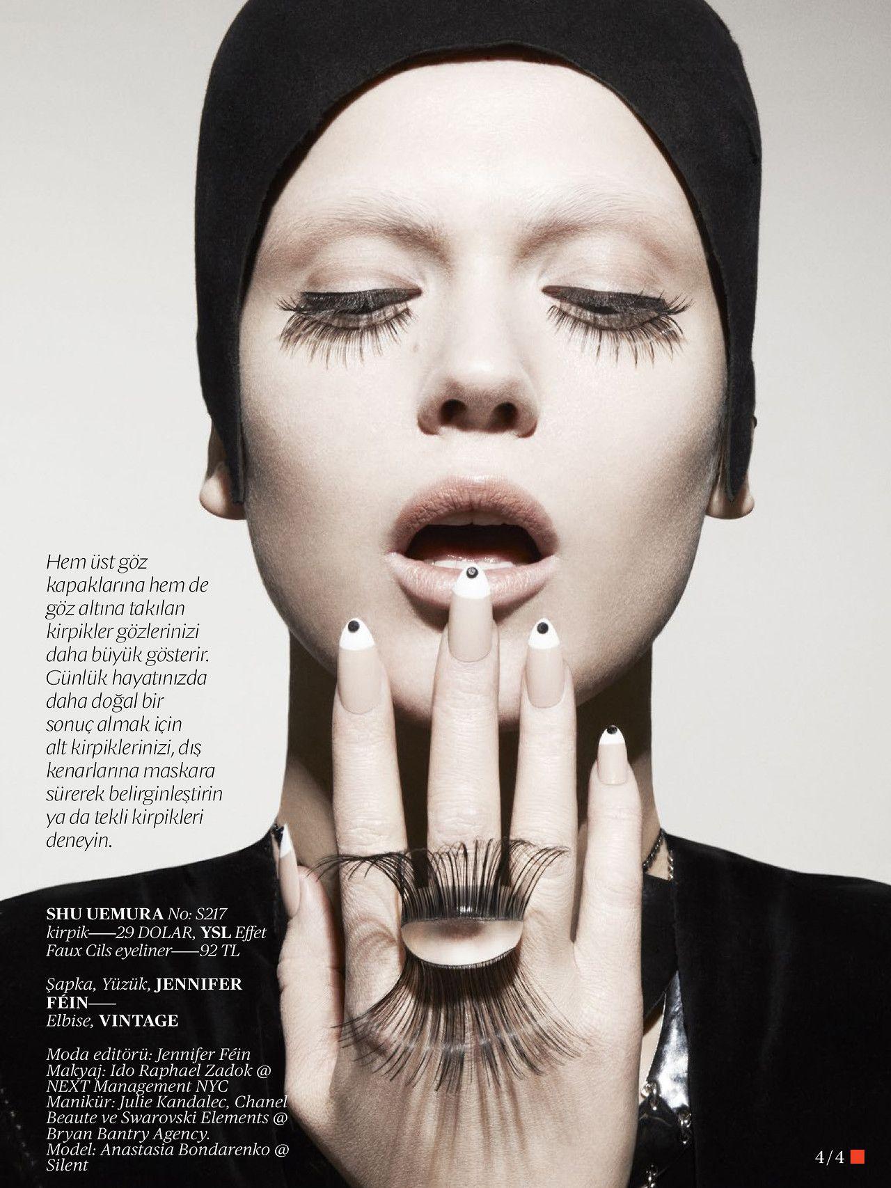 Anastasia Bondarenko by Jamie Nelson for Vogue Turkey