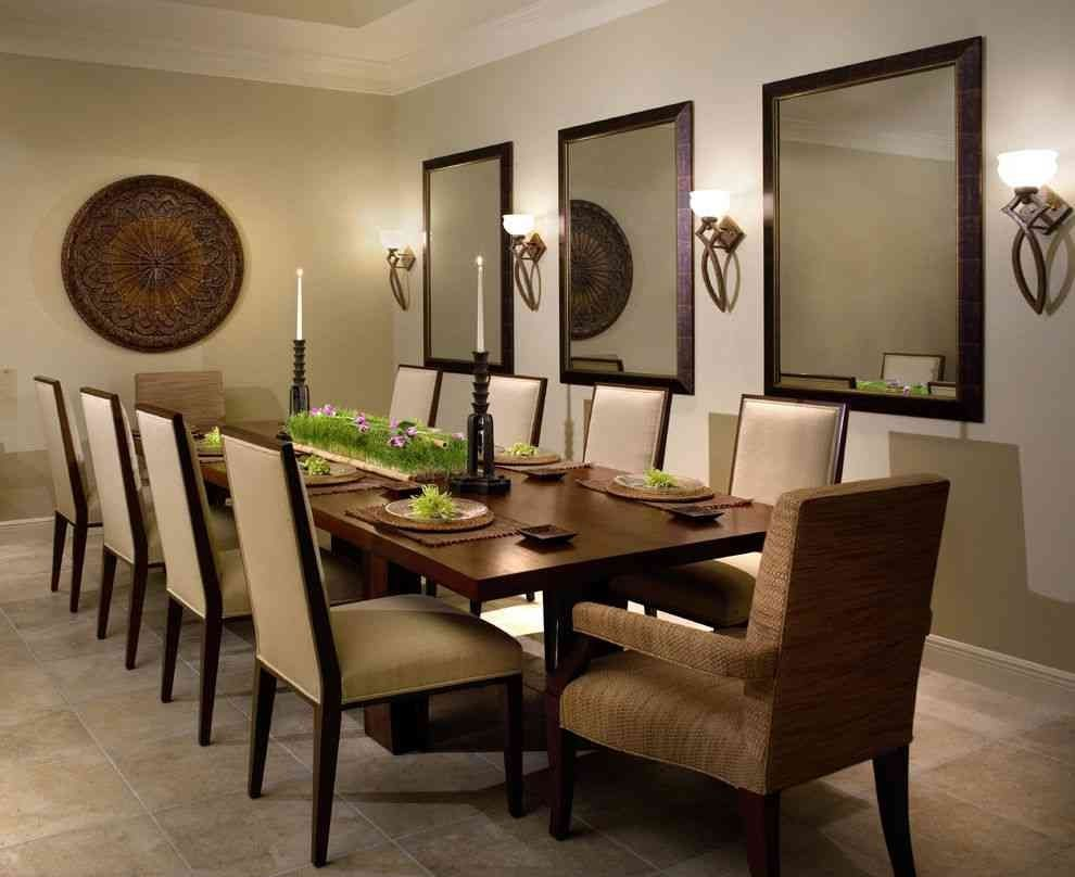 Ideas To Decorate Dining Room Wall