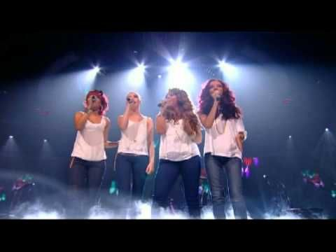 Little Mix sing Beautiful - The X Factor 2011 Live Show 8 - Musical Heroes