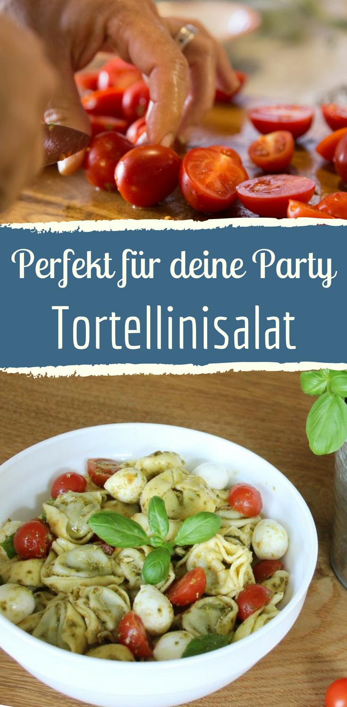 Photo of Tortellini salad: quick recipe with pesto & mozzarella