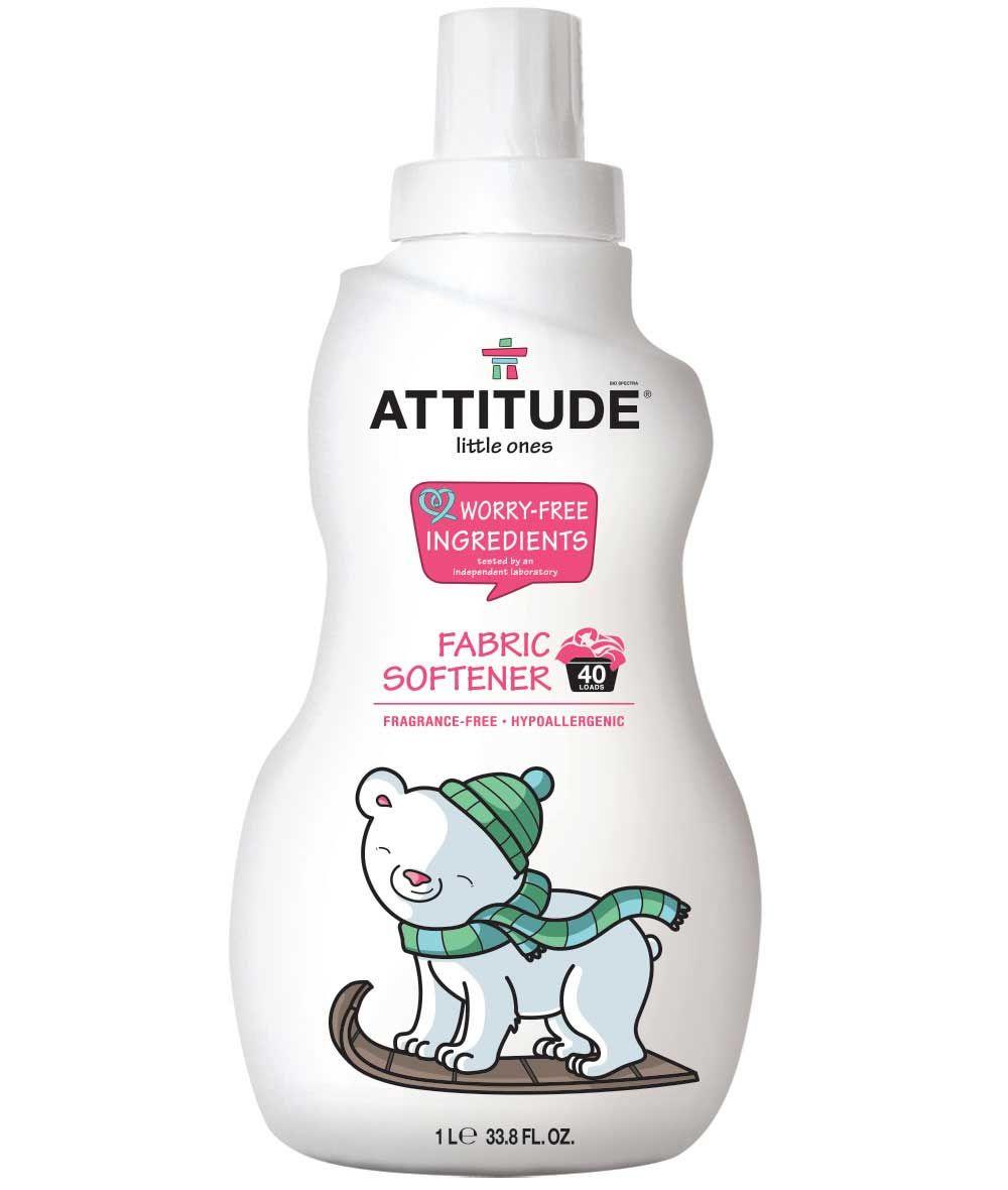 Baby Fabric Softener Fragrance Free Attitude Baby Fabric