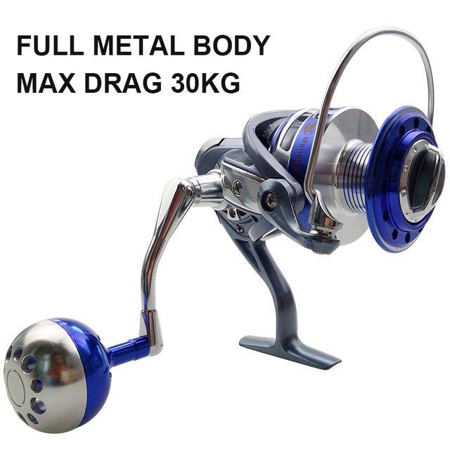 Full Metal CNC Saltwater Spinning Fishing Reel Handle Ball Knob Tackle Tool