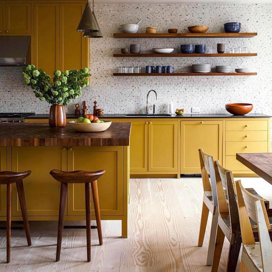 Yellow Things yellow kitchen cabinets   Home decor kitchen ...