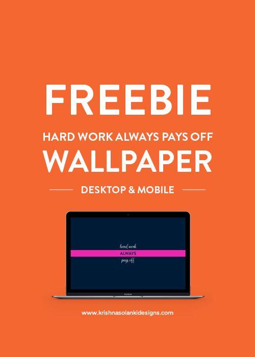 Exceptional Hard Work Always Pays Off   Desktop Wallpaper (Free)