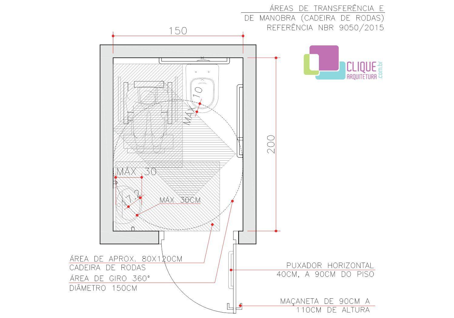 Banheiro Adaptado Clique Arquitetura Com Imagens Banheiro