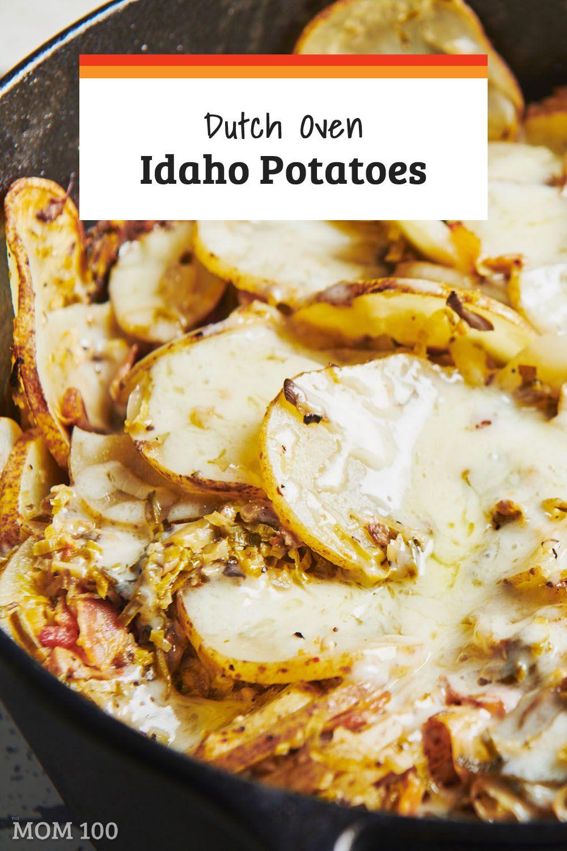 Dutch Oven Idaho Potatoes This Dish Is Like An Informal
