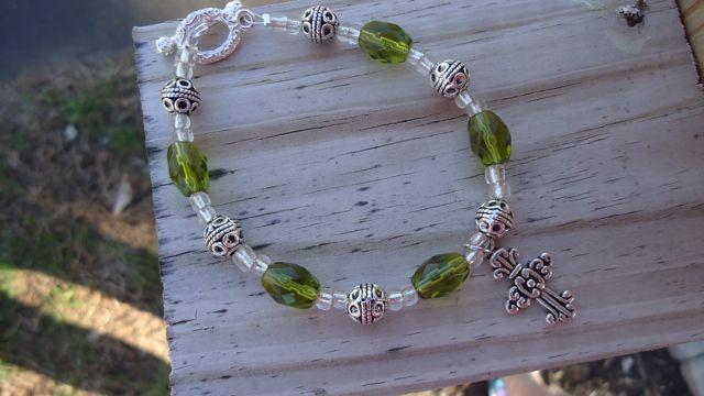 Jade Circle Bracelet