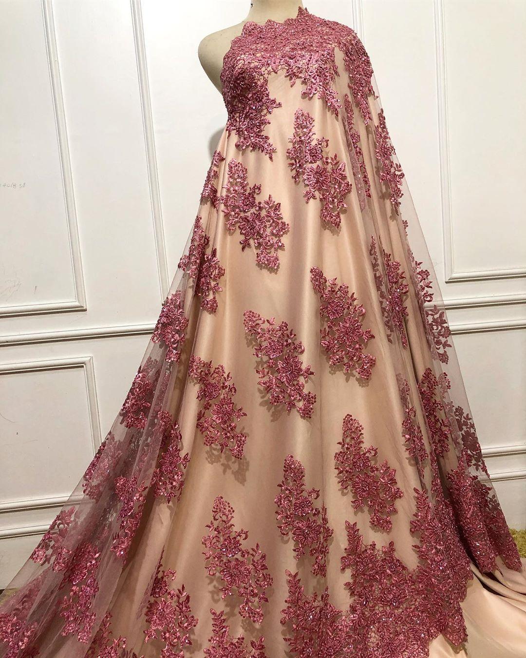 Tile Payet Pink 300k M Tille Lace Brokat Silk Tille3d Tillepayet Tille3dkorea Desaign