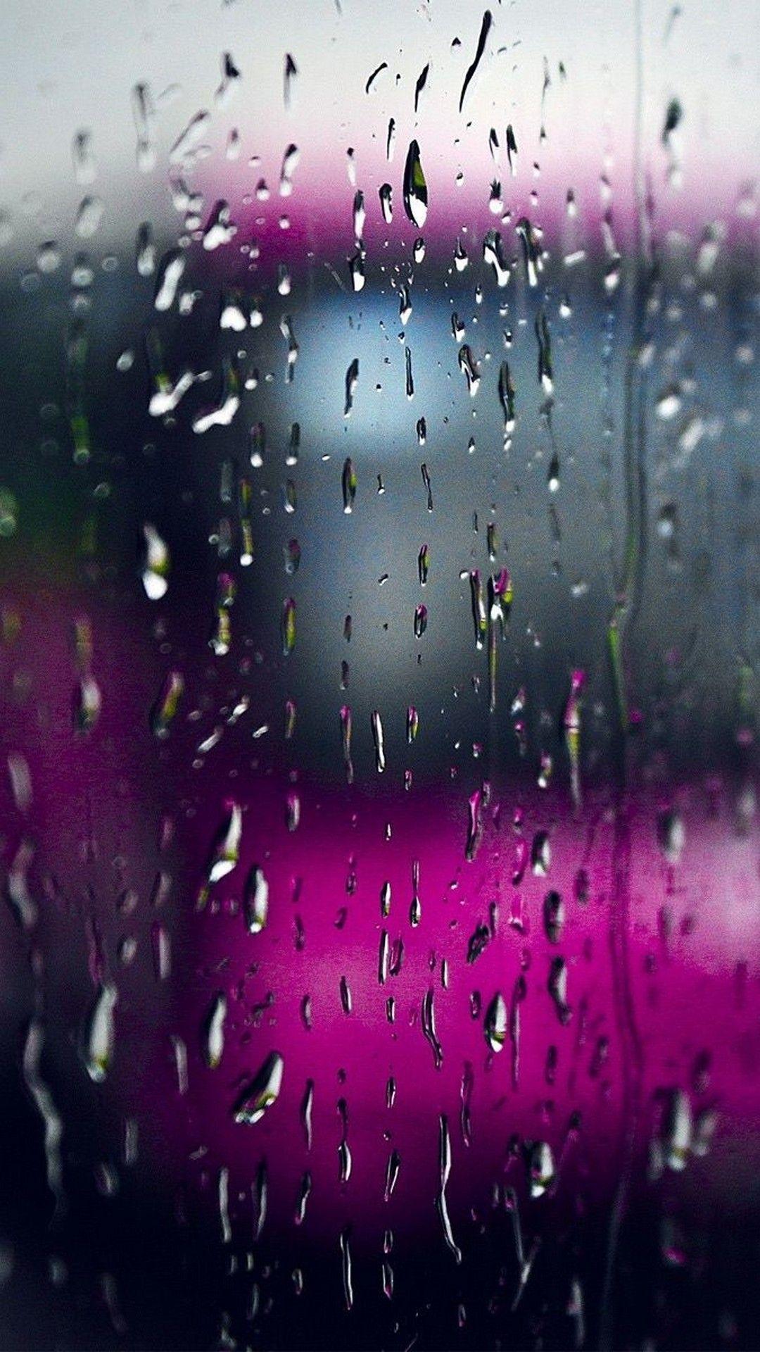 Live Rain Wallpaper For Iphone Iphonewallpapers Iphone Wallpaper