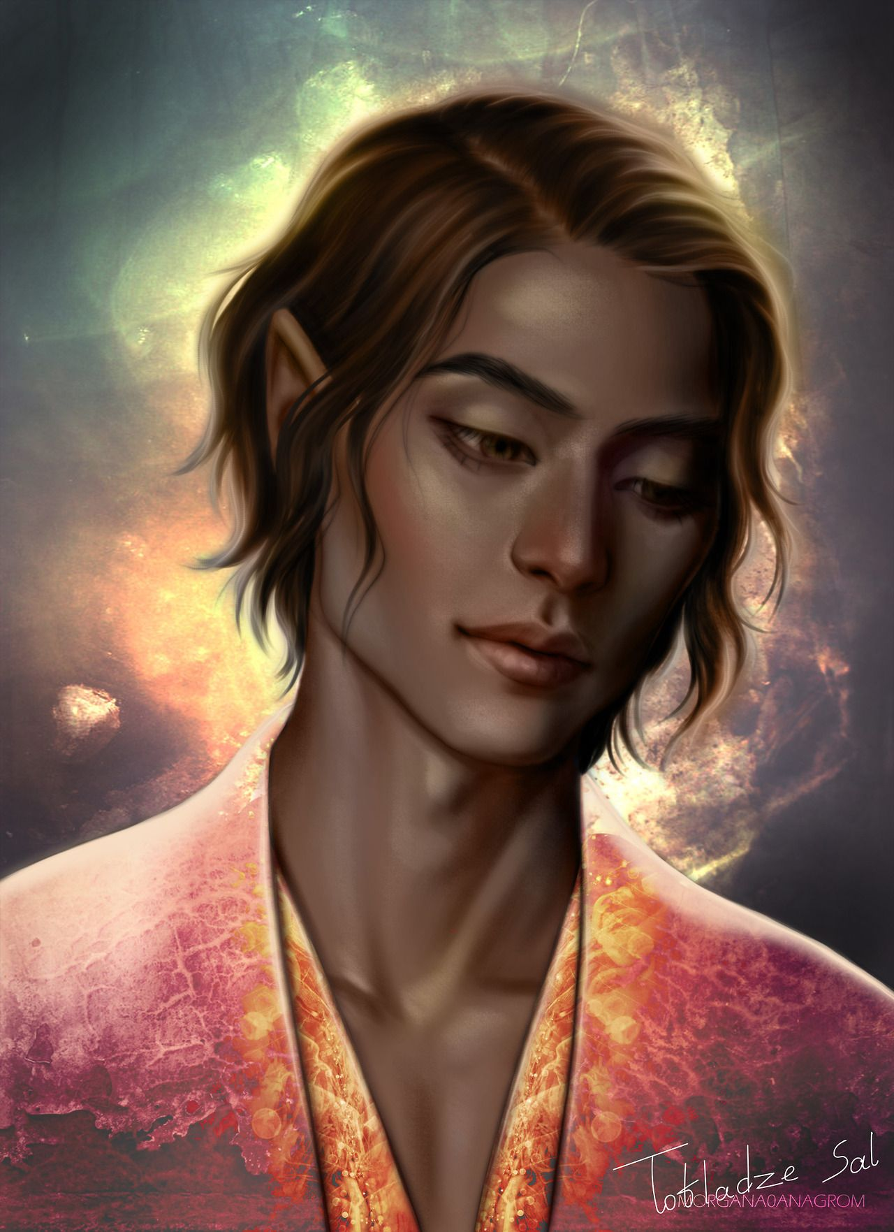 Thesan From A Court Of Thorns And Roses Series High Lord Of The