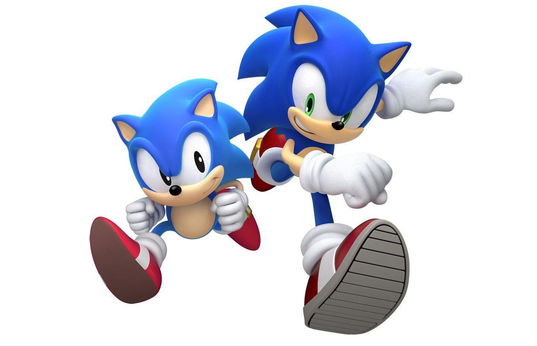 Classic Sonic Vs Modern Sonic Race Sonic Generations Classic Sonic Sonic