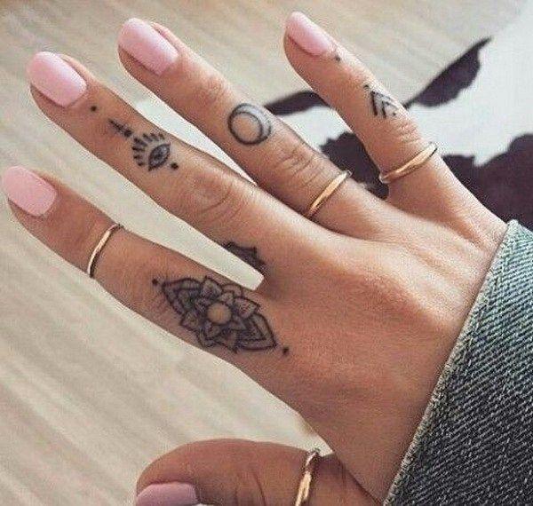finger tatoveringer