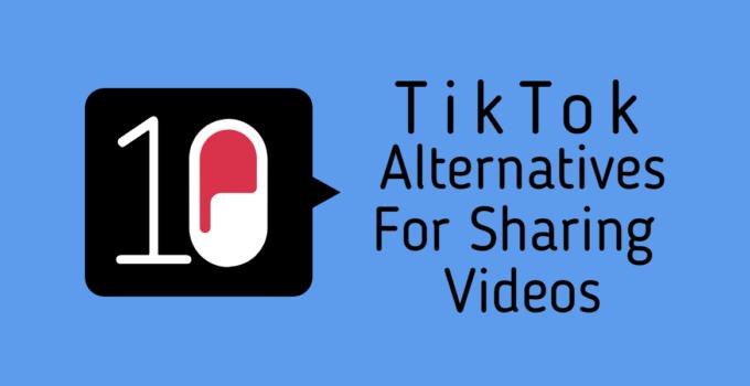 Top 10 Apps Like Tiktok For Sharing Videos Online Video Online Top 10 Apps Videos