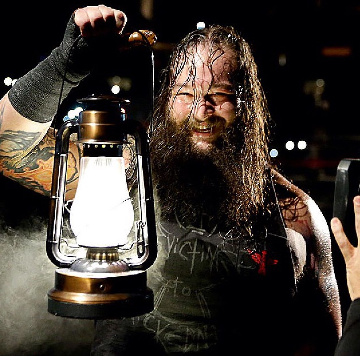 Bray Wyatt. Master of the promo and the best mystique/theatrics since undertaker and kane