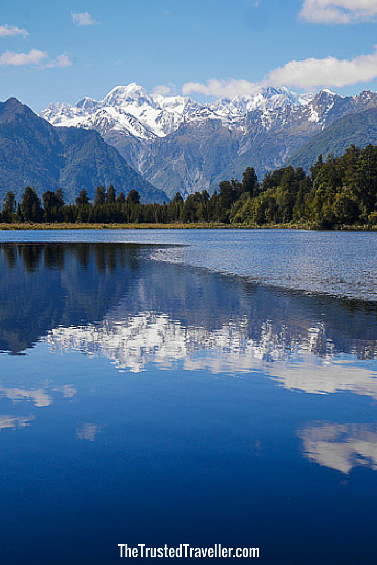Lake Matheson & Mt Cook - A Walk Around Lake Matheson - The Trusted Traveller