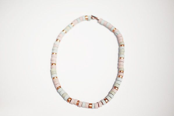 this looks like a candy necklace...but sophisticated. I like. (Lauren Manoogian)